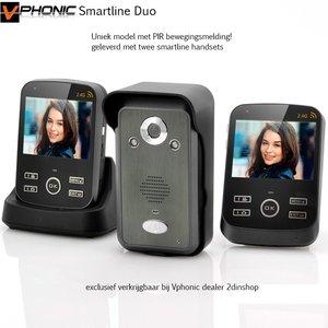Draadloze videofoon Vphonic smartline Duo
